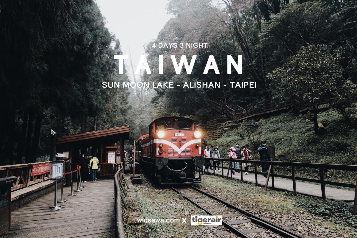 (รีวิวไต้หวัน) | Sun moon lak - Alishan - Taipei (4 วัน 3 คืน) งบ 8000 นิดๆ ก็ไปเที่ยวไต้หวันได้