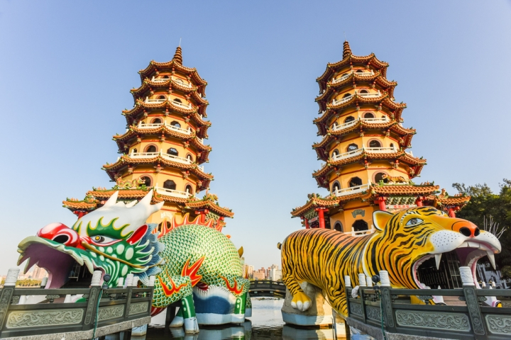 Dragon Tiger Pagodas